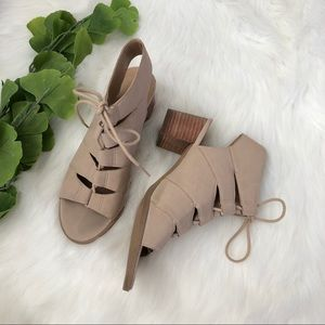 Tucker & Tate | Lace Up Heel Sandals Heels Size 4